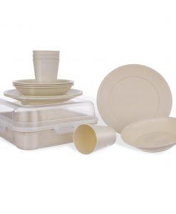 Orion Sada plastového nádobí Piknik