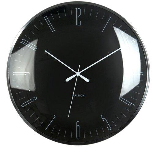Karlsson 5623BK Designové nástěnné hodiny