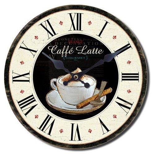 Nástěnné hodiny Caffé latte